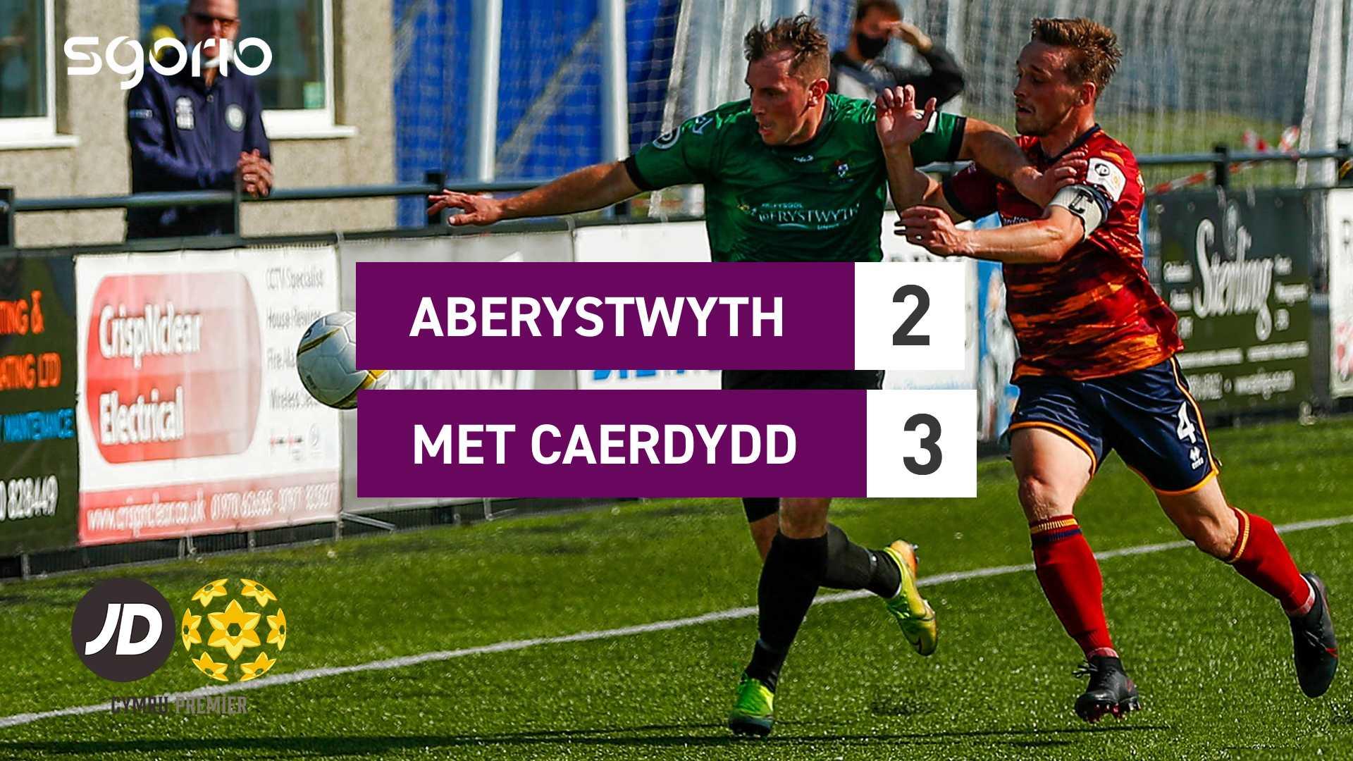 Aberystwyth 2-3 Met Caerdydd