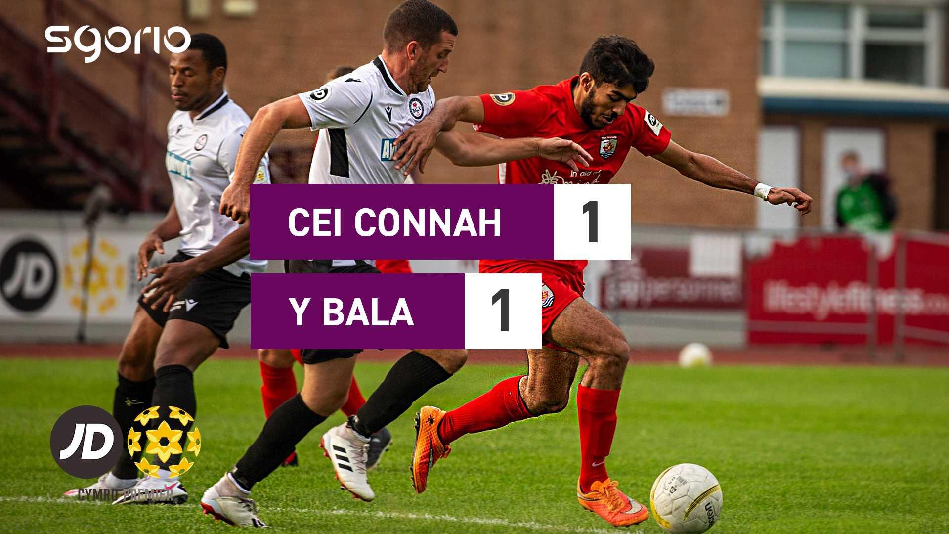 Cei Connah 1-1 Y Bala