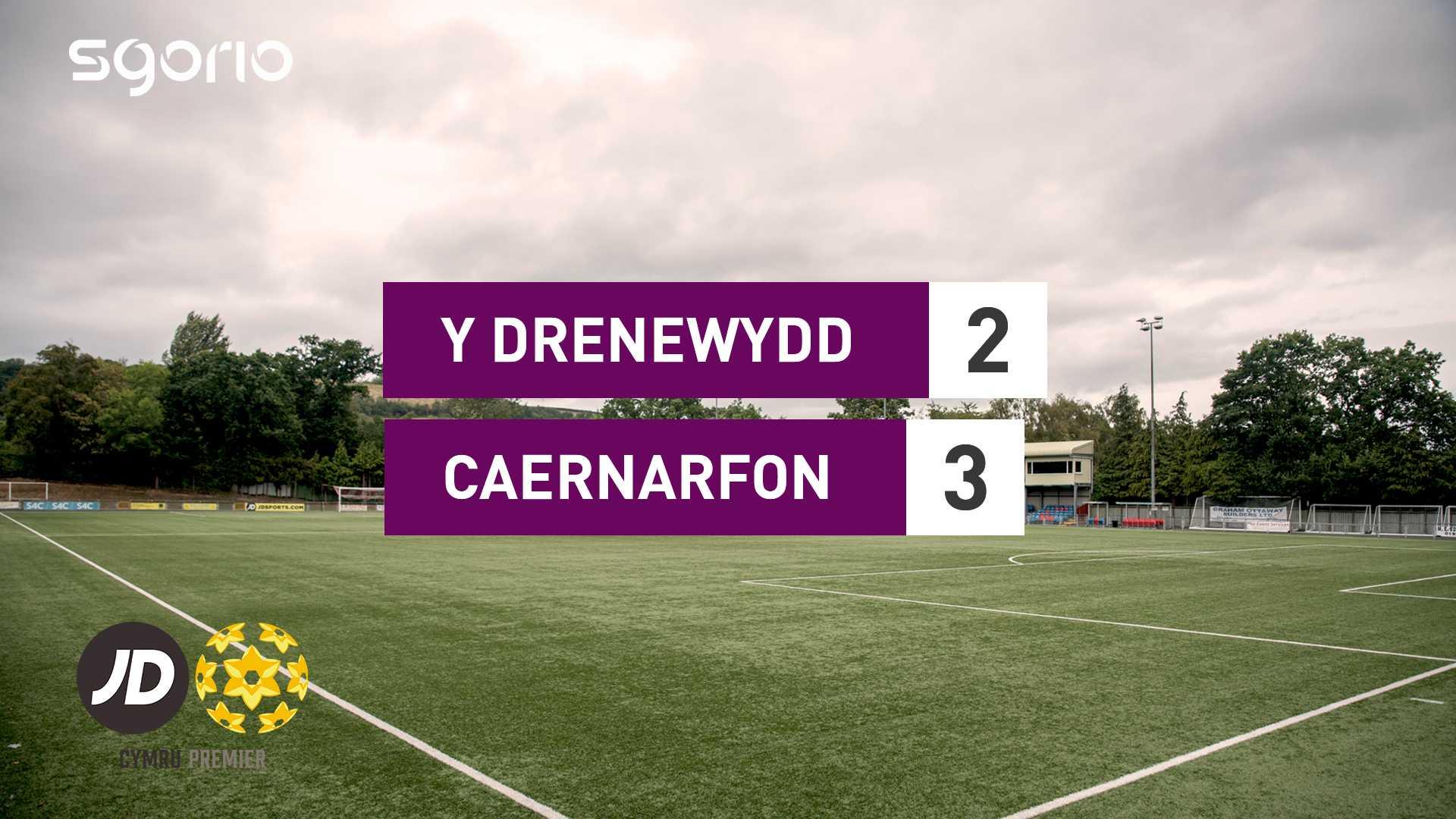 Y Drenewydd 2-3 Caernarfon