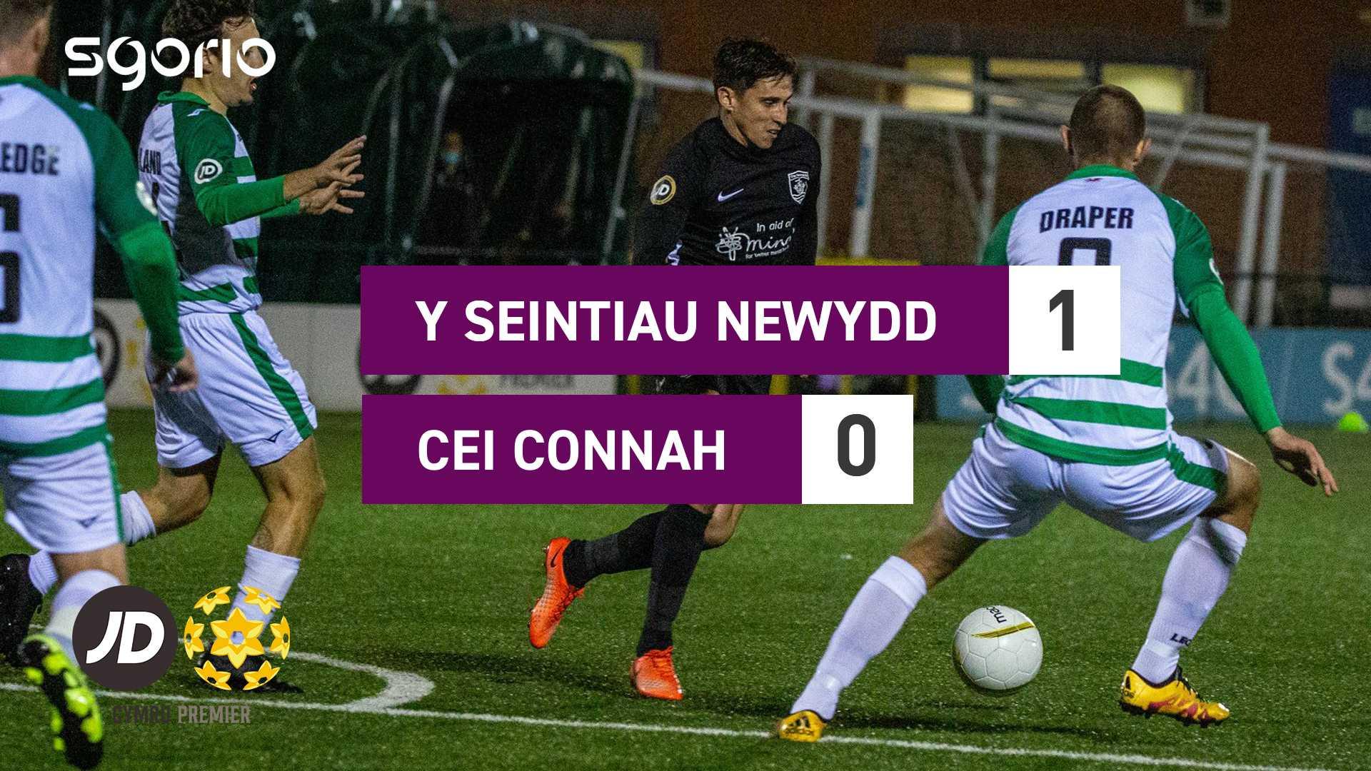 Y Seintiau Newydd 1-0 Cei Connah