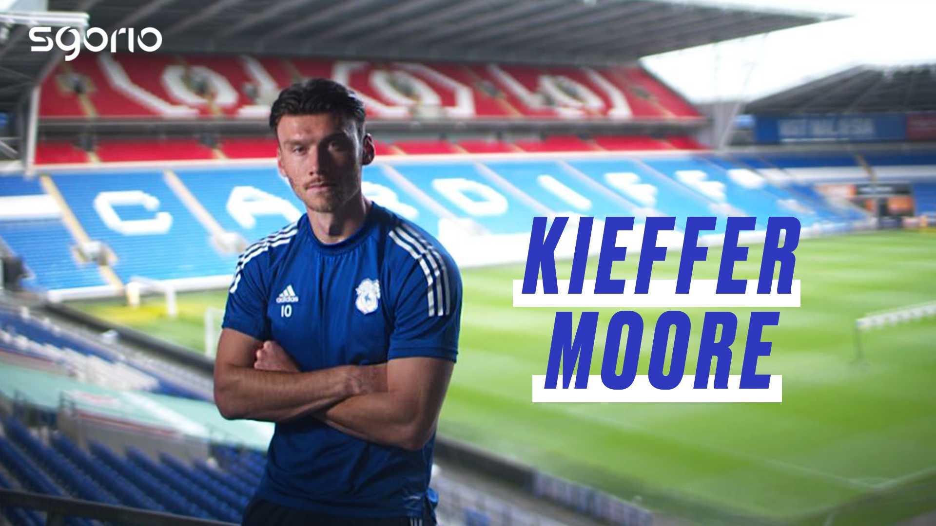 Kieffer Moore   Cymru a Chaerdydd