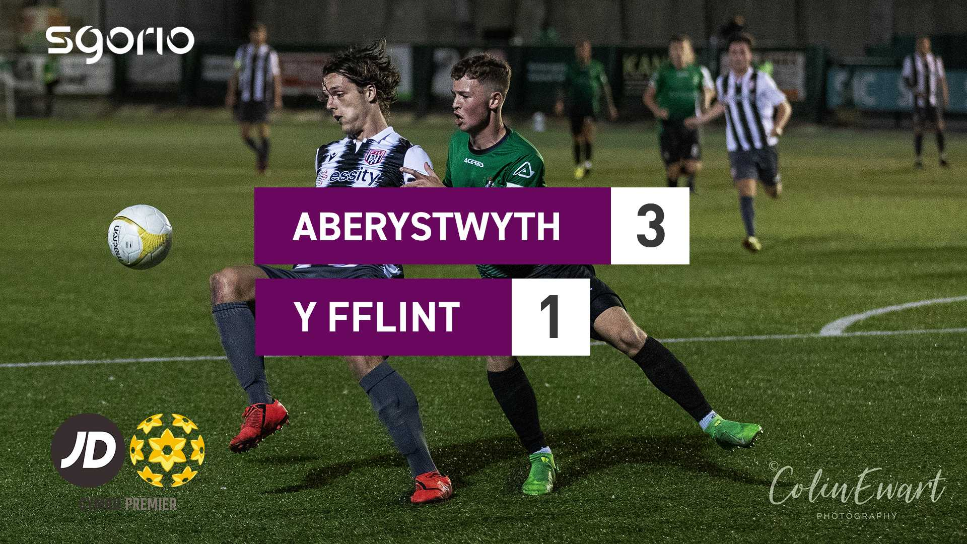 Aberystwyth 3-1 Y Fflint