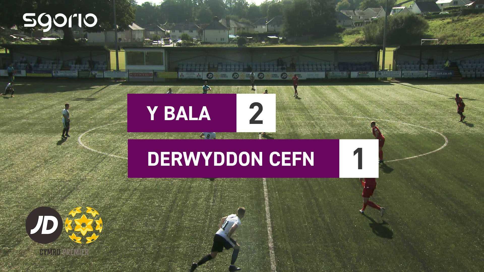 Y Bala 2-1 Derwyddon Cefn