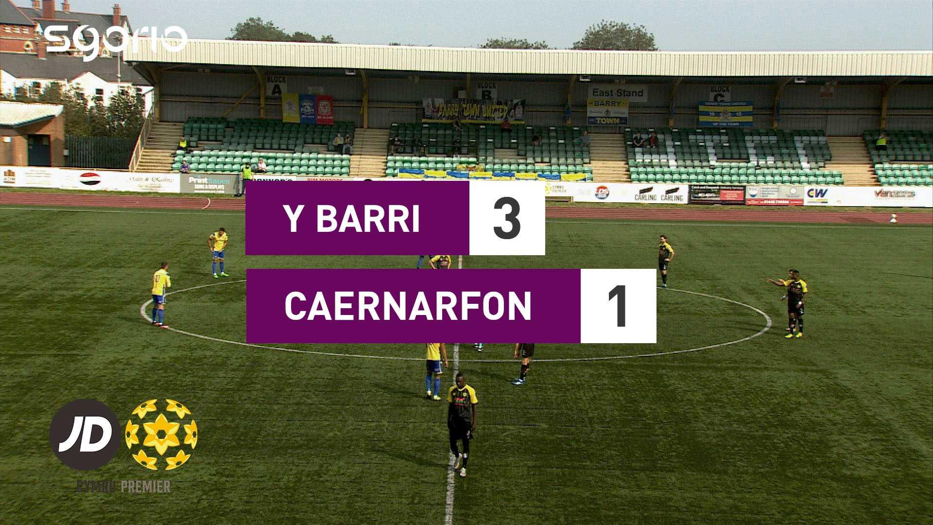 Y Barri 3-1 Caernarfon