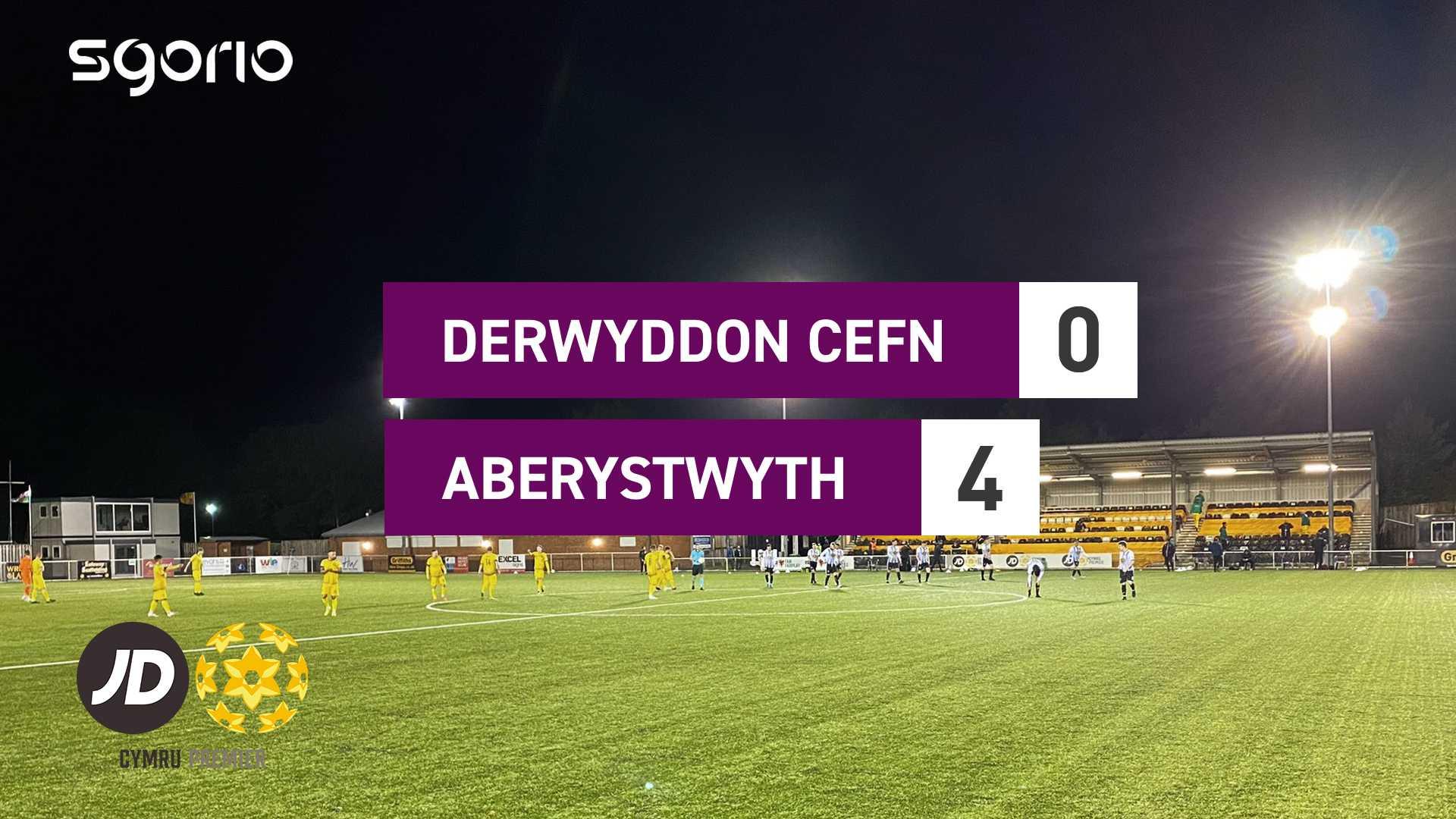Derwyddon Cefn 0–4 Aberystwyth