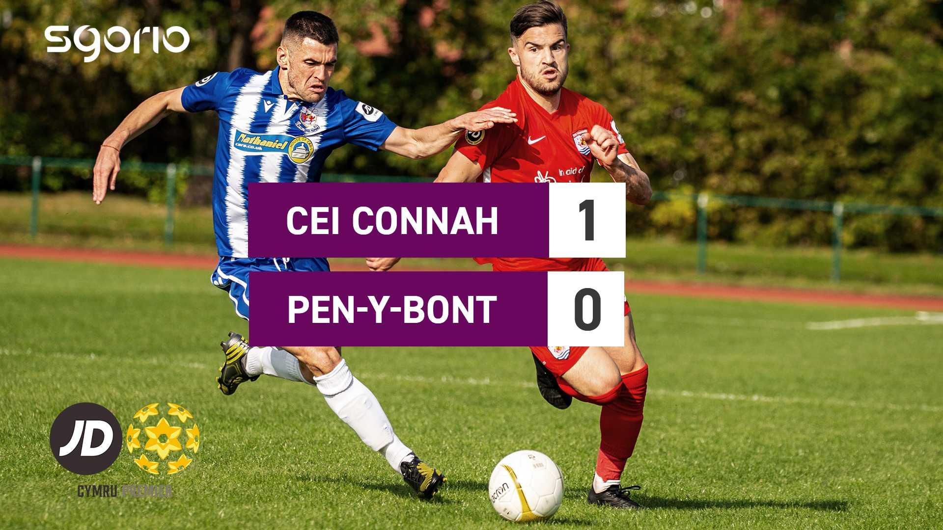 Connah's Quay 1-0 Pen-y-bont