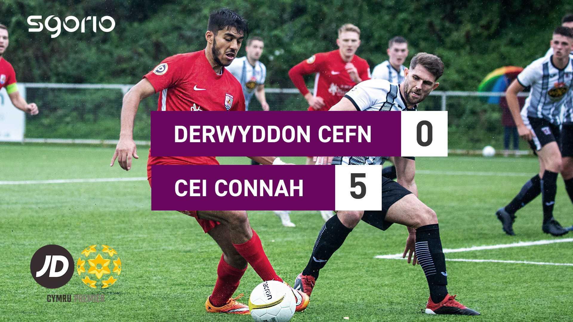 Derwyddon Cefn 0-5 Cei Connah