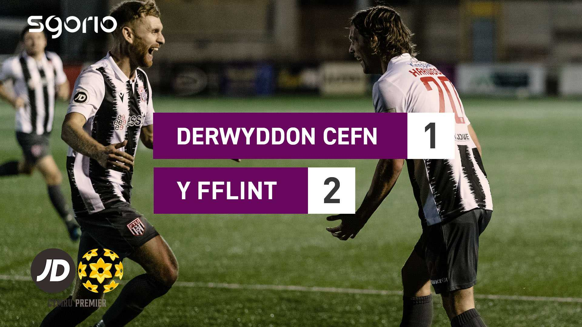 Derwyddon Cefn 1-2 Y Fflint
