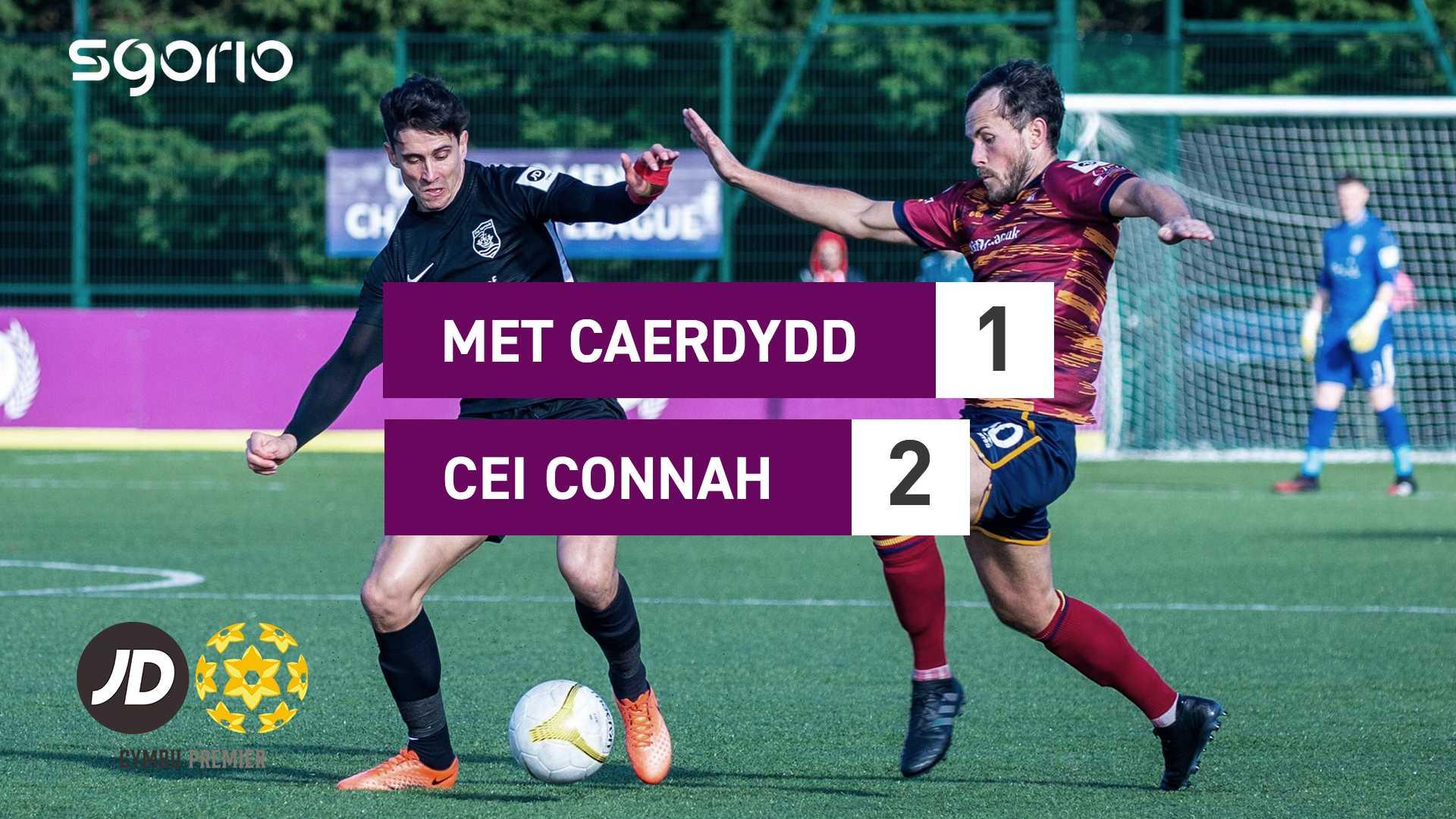 Met Caerdydd 1-2 Cei Connah