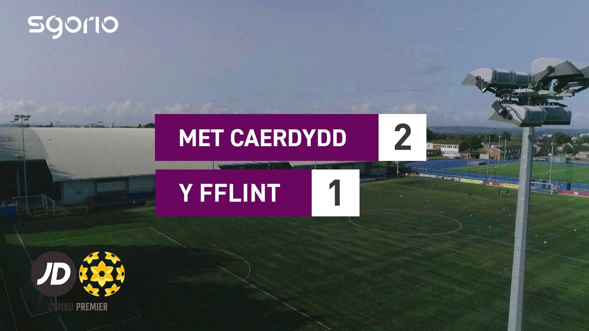 Met Caerdydd 2-1 Y Fflint