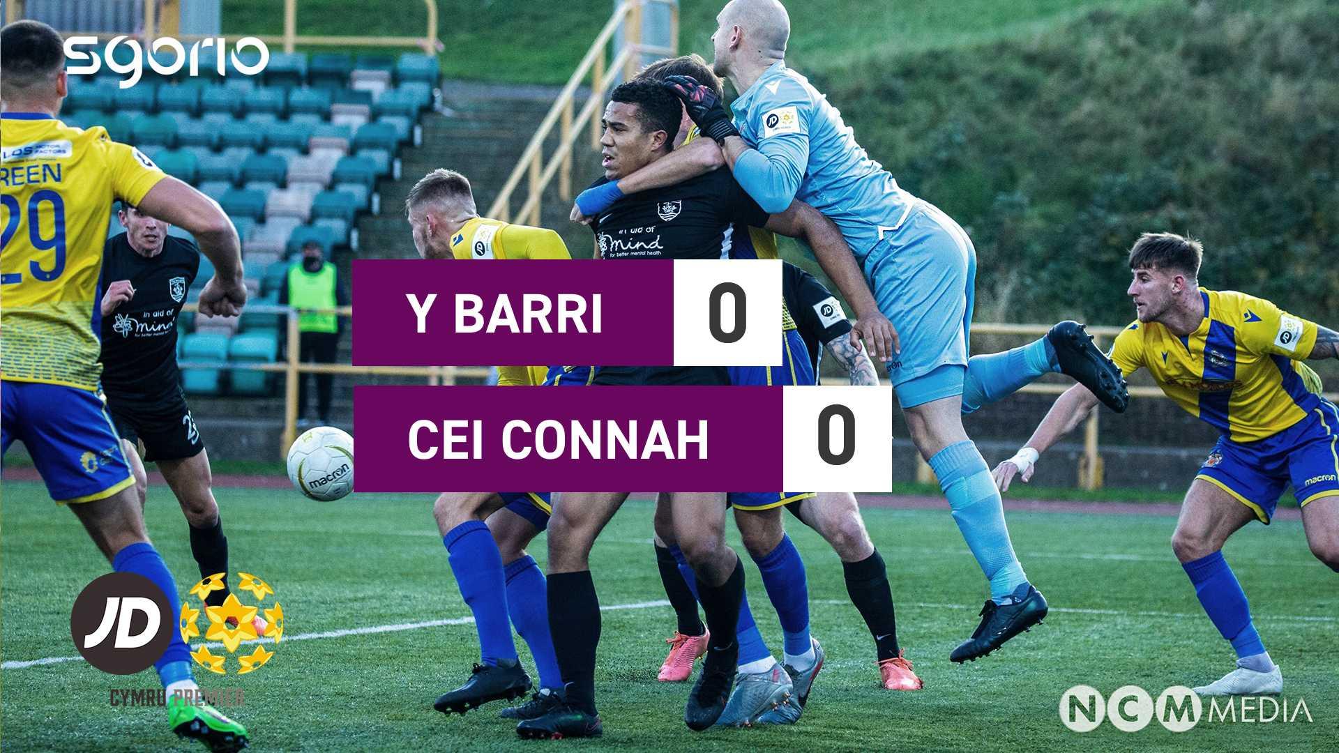 Y Barri 0-0 Cei Connah