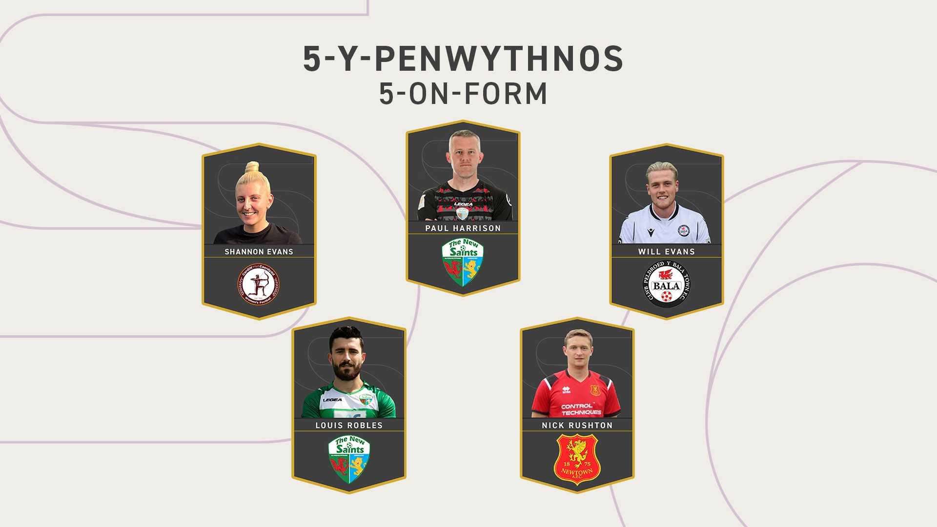 5 y Penwythnos
