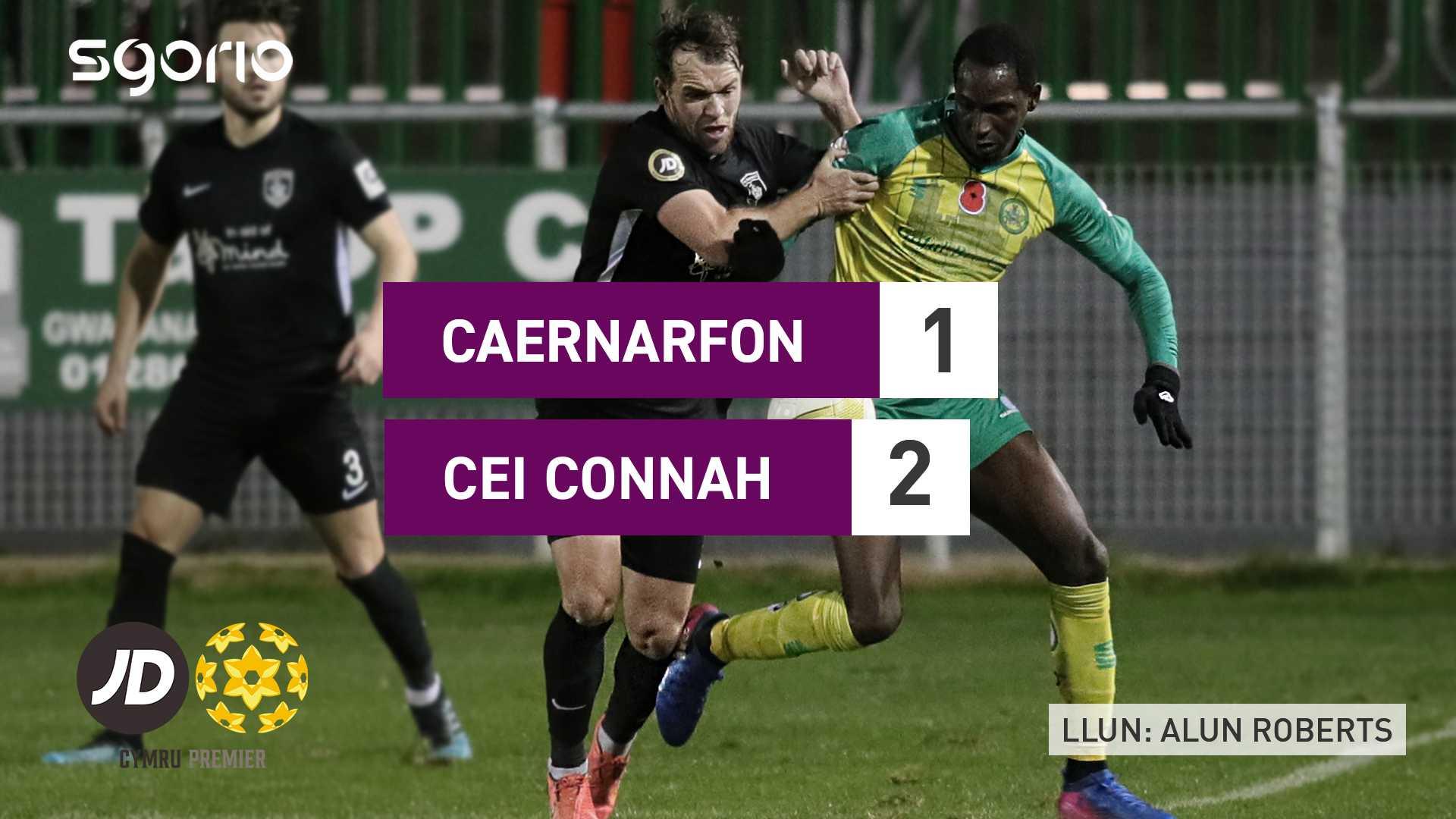 Caernarfon 1-2 Cei Connah