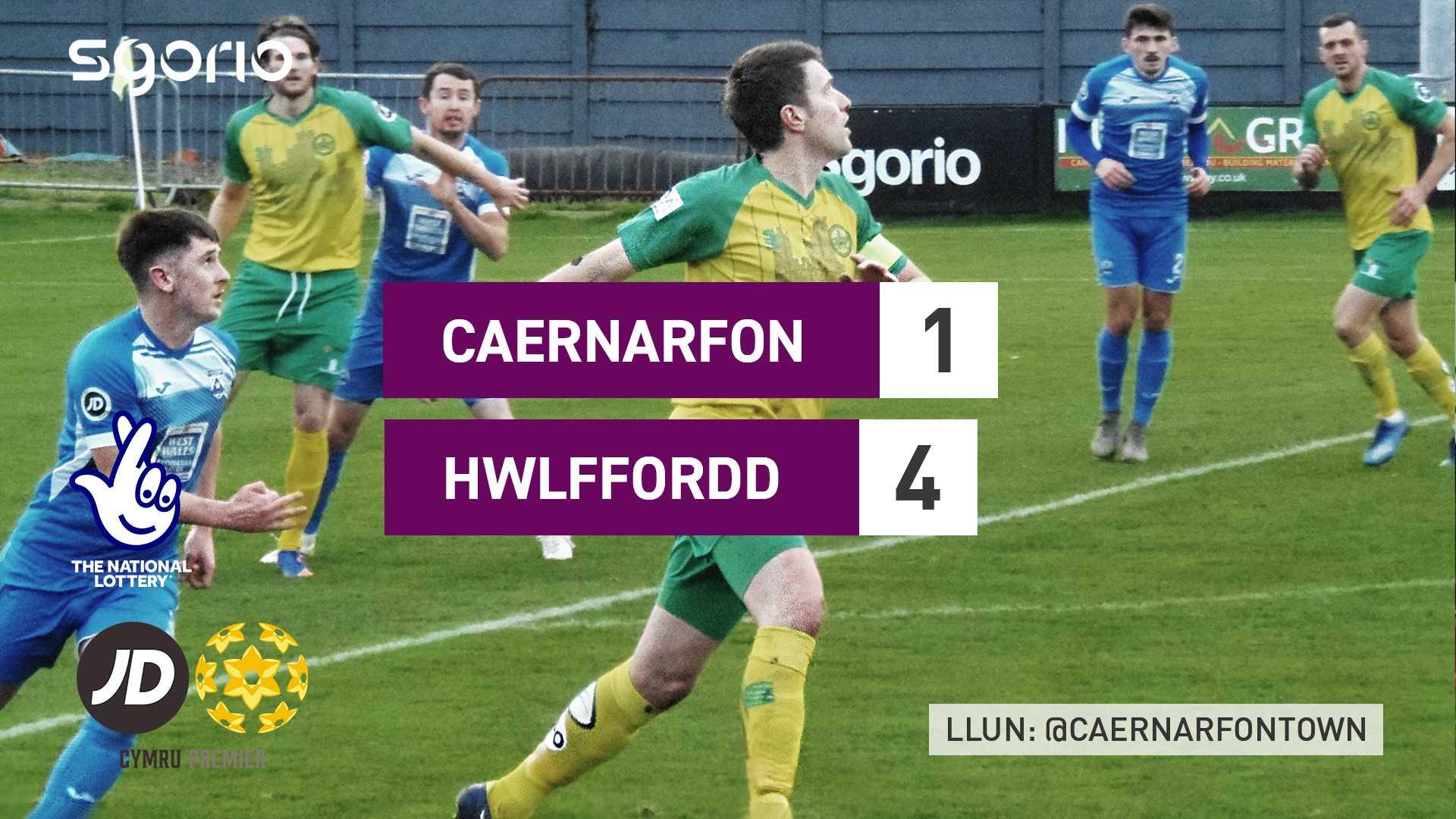 Caernarfon 1-4 Haverfordwest County