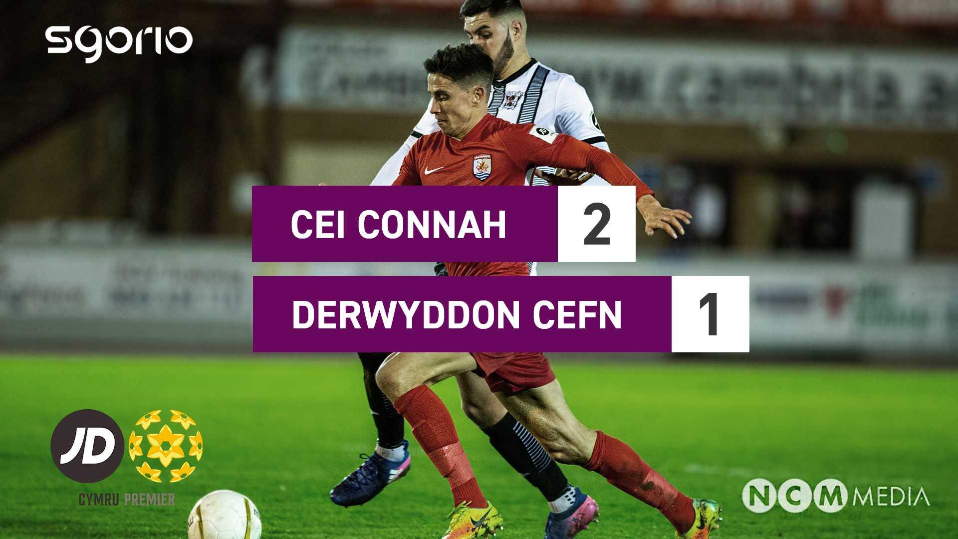 Cei Connah 2-1 Derwyddon Cefn