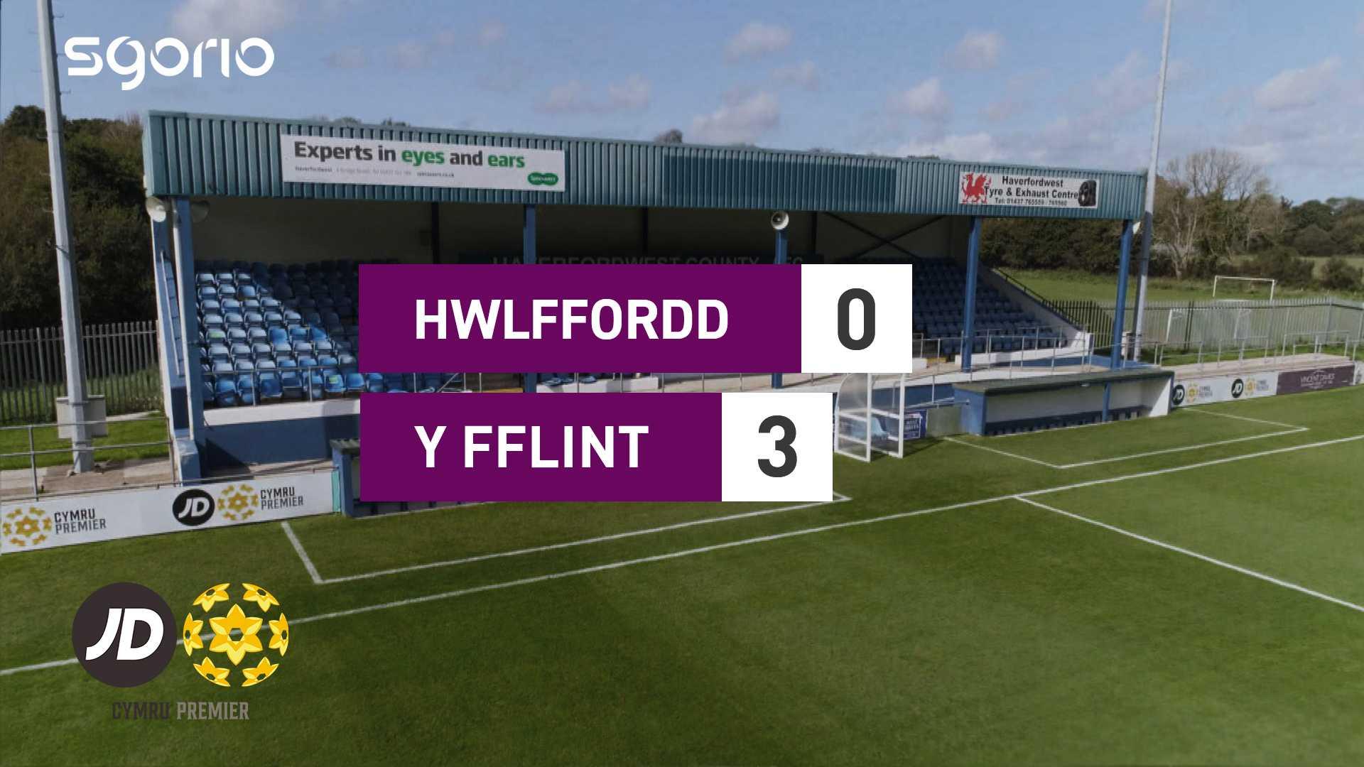 Hwlffordd 0-3 Y Fflint