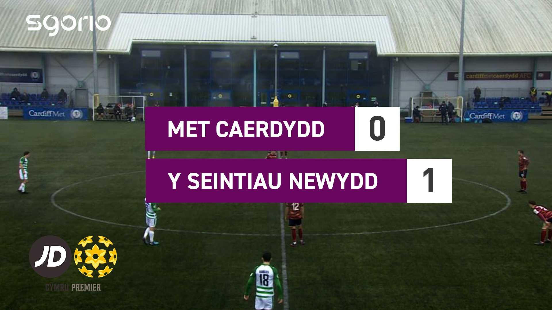 Met Caerdydd 0-1 Y Seintiau Newydd