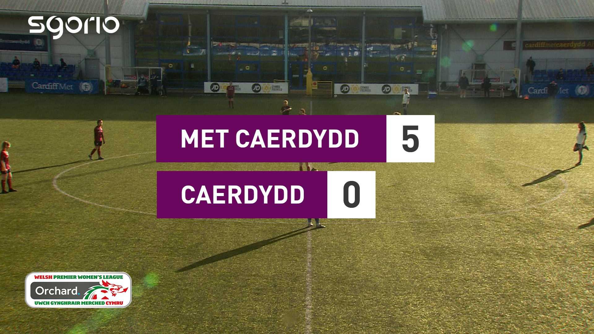 Merched Met Caerdydd 5-0 Merched Caerdydd