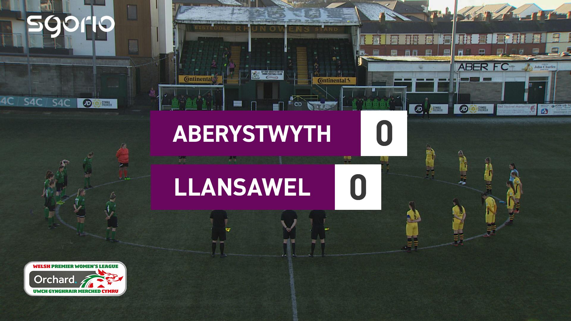 Merched Aberystwyth 0-0 Merched Llansawel
