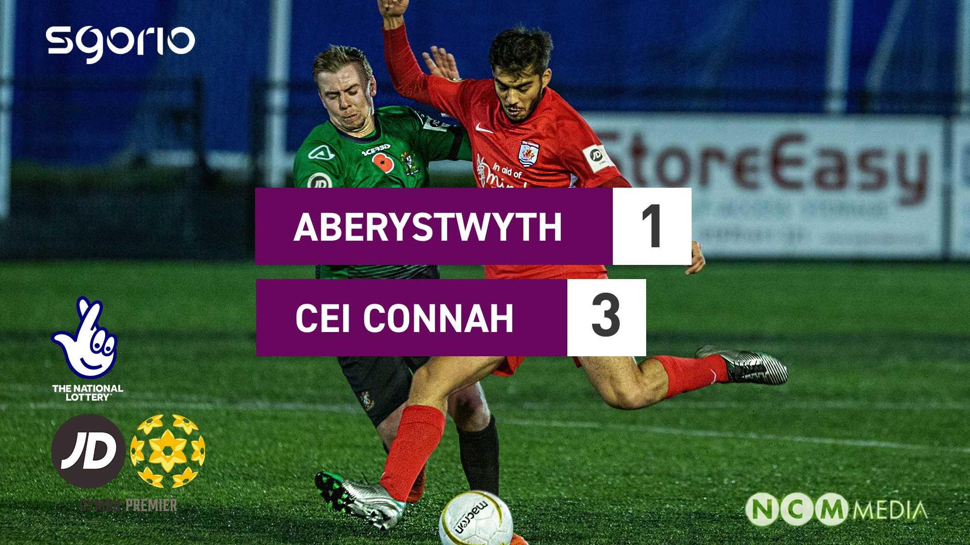 Aberystwyth 1-3 Cei Connah