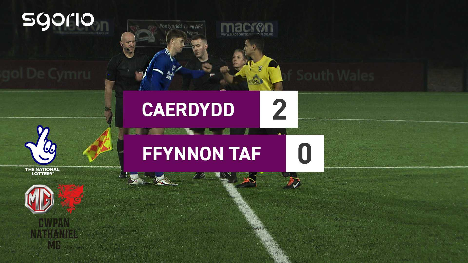 Caerdydd 2-0 Ffynnon Taf