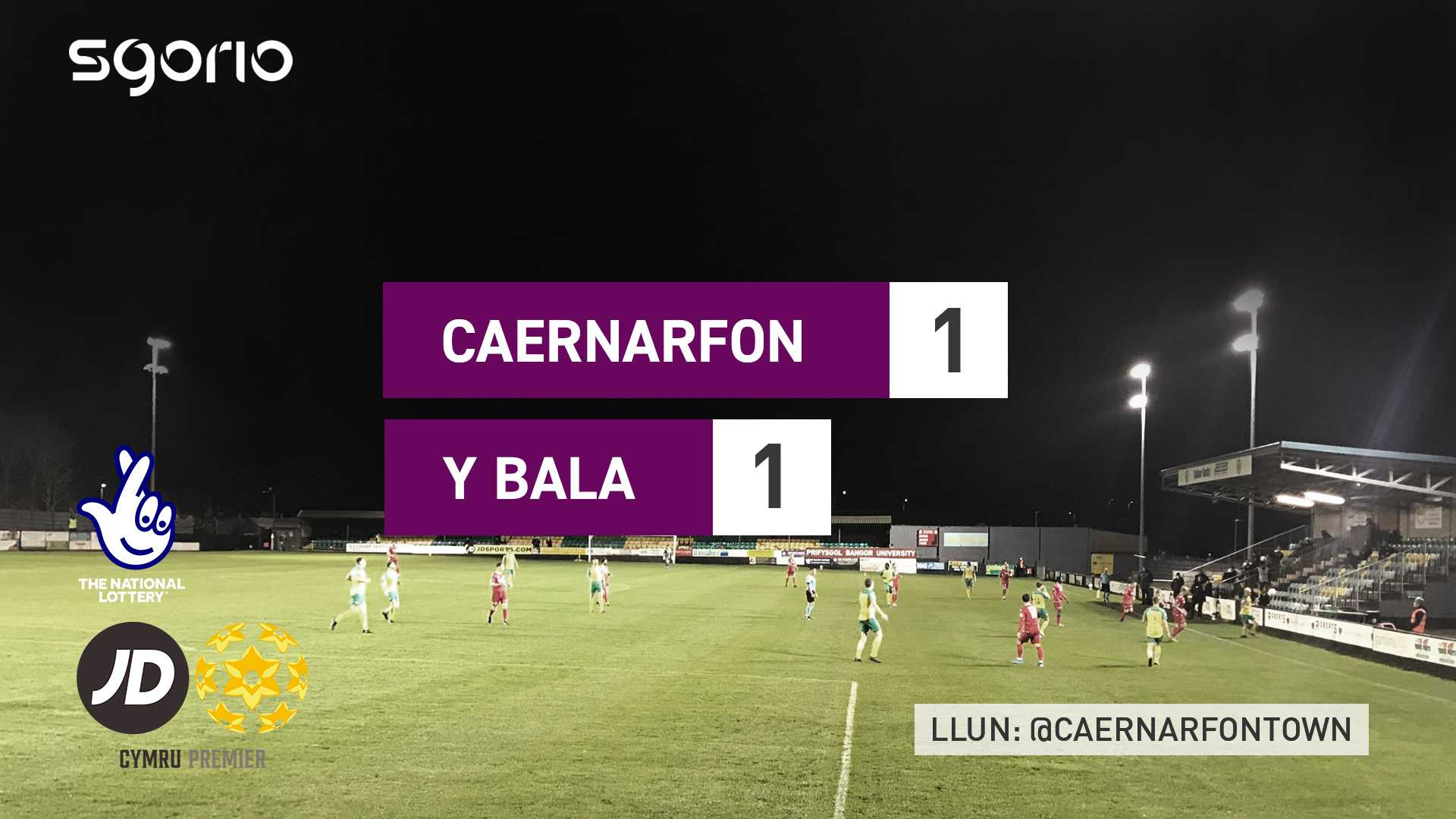 Caernarfon 1-1 Y Bala