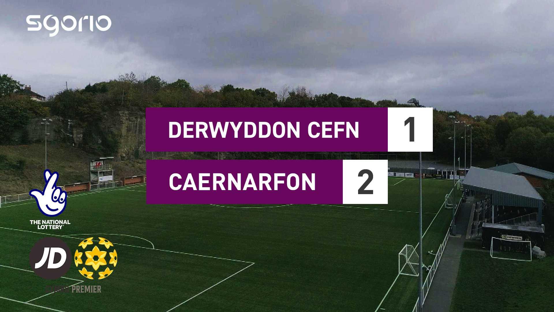 Derwyddon Cefn 1-2 Caernarfon