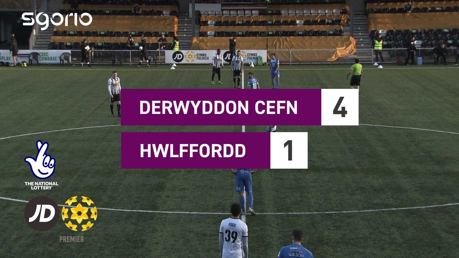 Derwyddon Cefn 4-1 Hwlffordd
