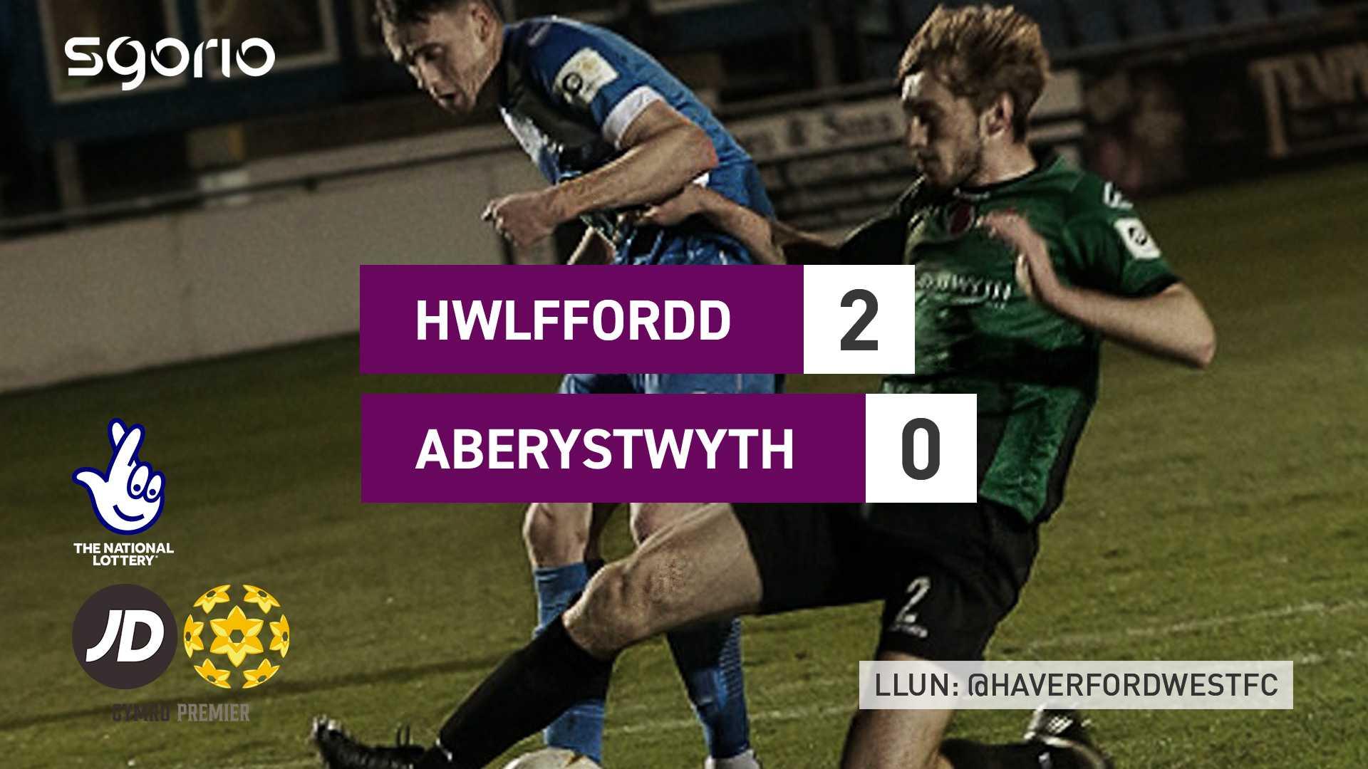Hwlffordd 2-0 Aberystwyth
