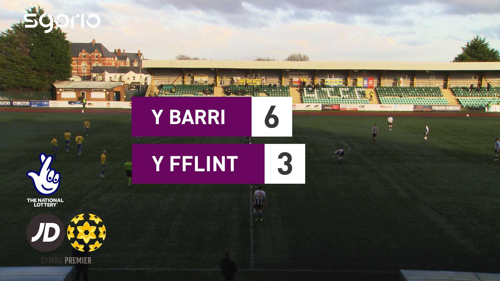 Y Barri 6-3 Y Fflint