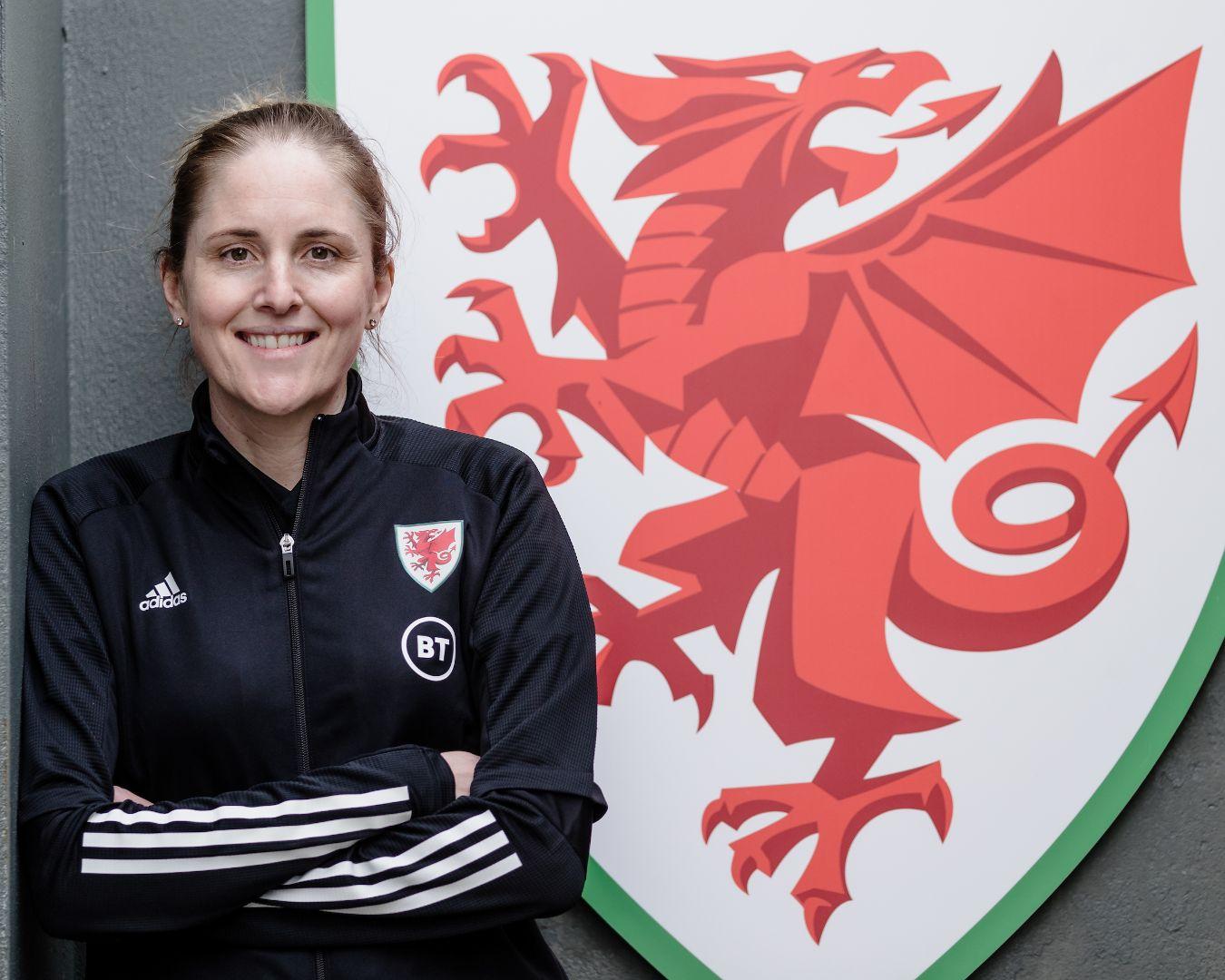 Cyhoeddi Gemma Grainger fel rheolwr tîm Merched Cymru