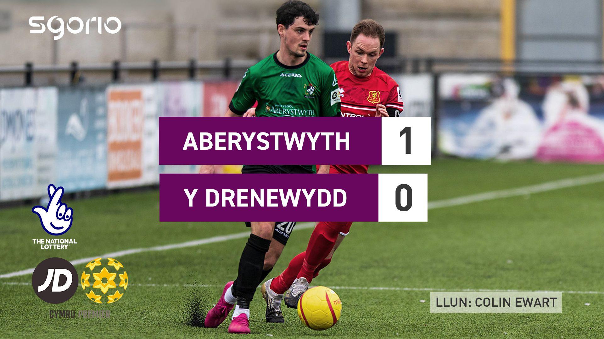Aberystwyth 1-0 Y Drenewydd