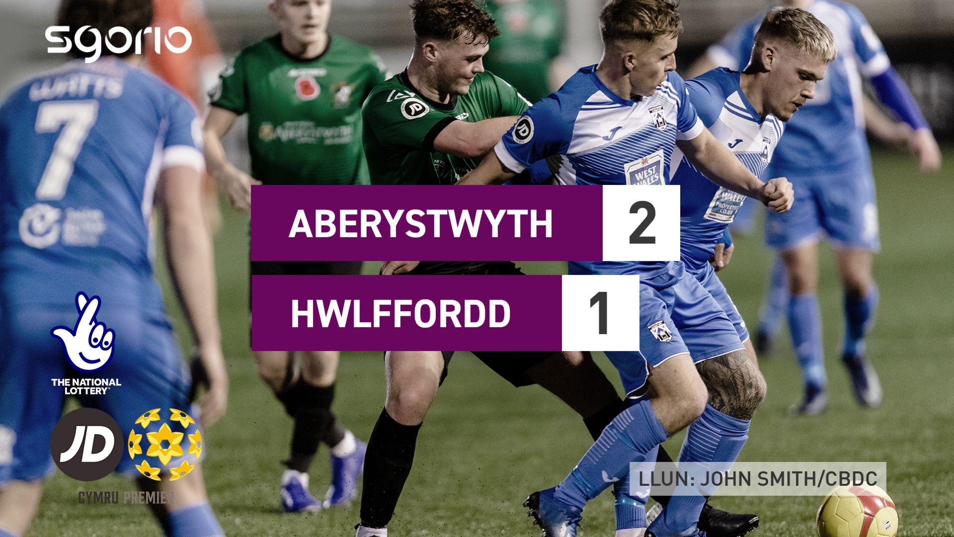 Aberystwyth 2-1 Hwlffordd