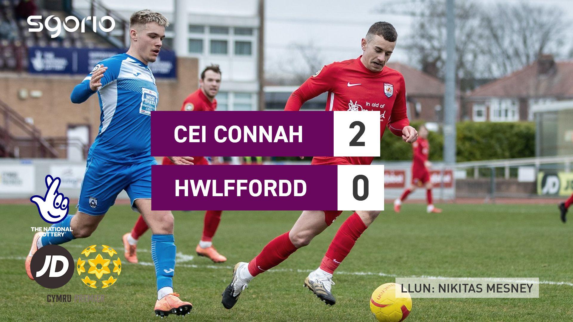 Cei Connah 2-0 Hwlffordd