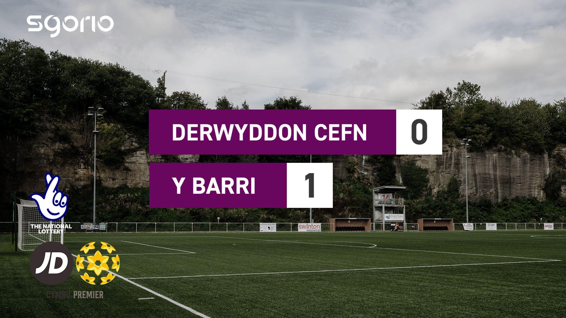 Derwyddon Cefn 0-1 Y Barri