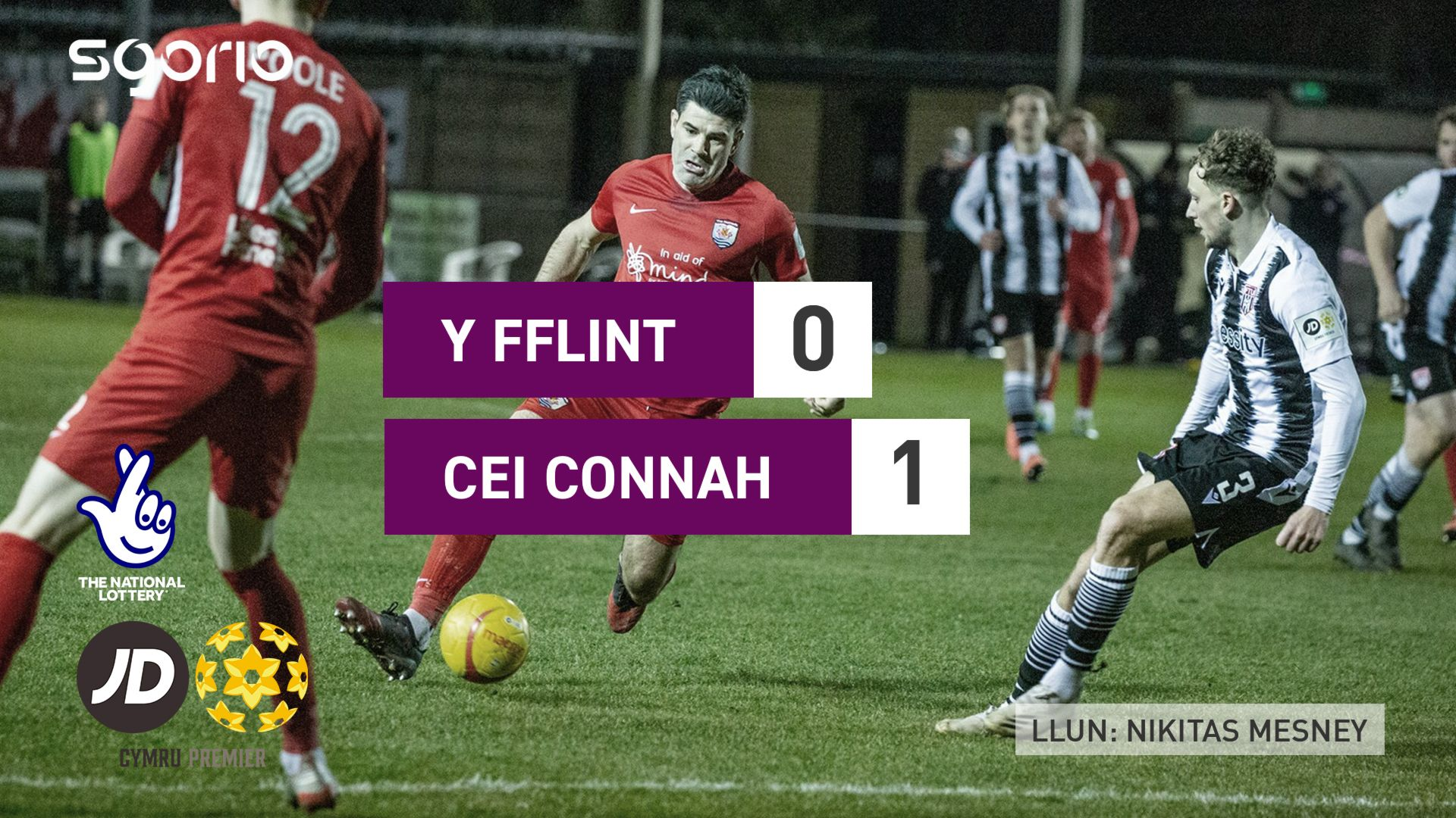 Y Fflint 0-1 Cei Connah
