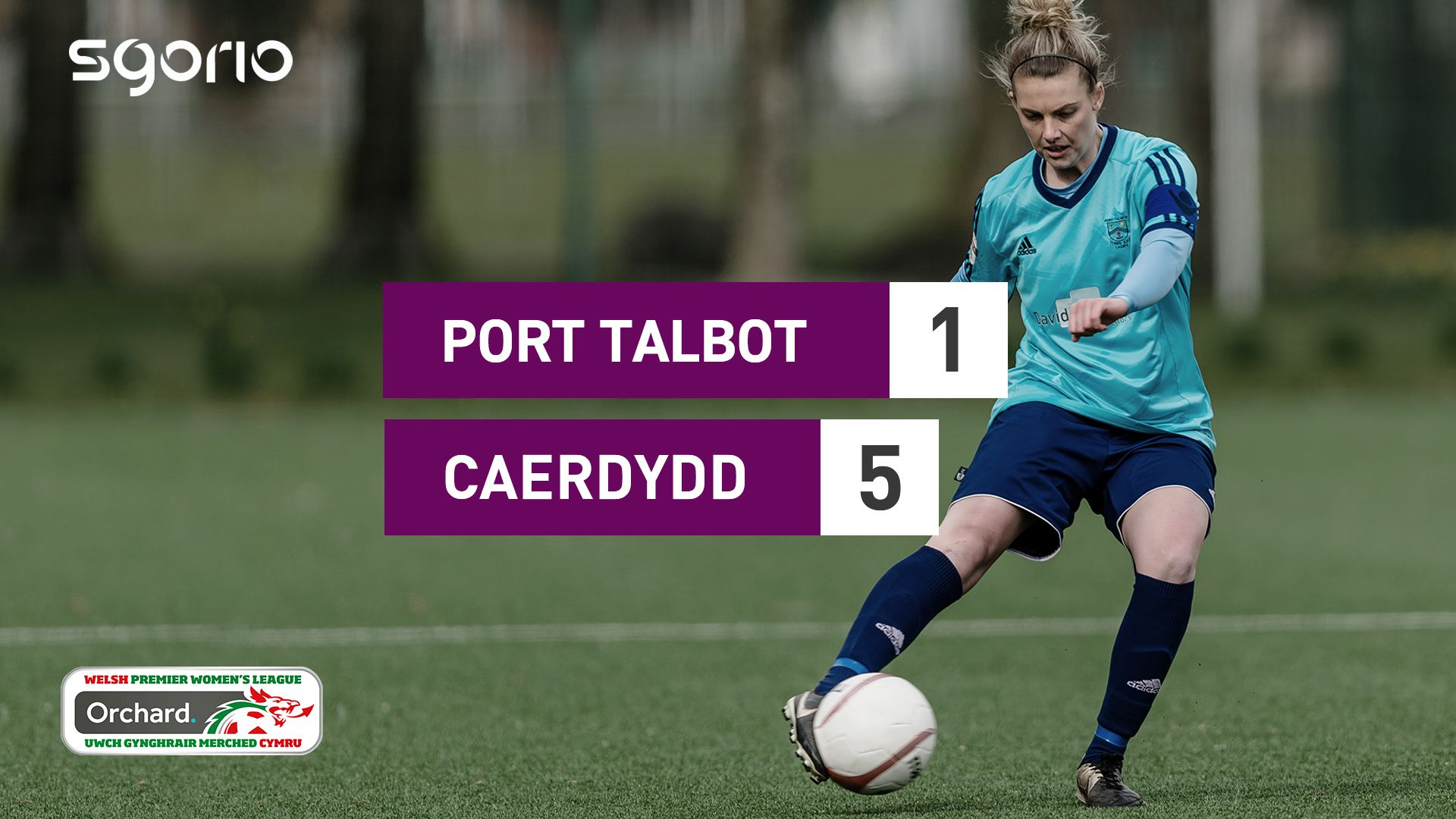 Merched Port Talbot 1-5 Merched Caerdydd