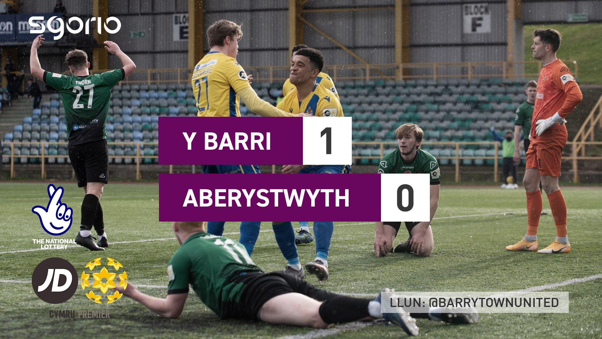 Y Barri 1-0 Aberystwyth