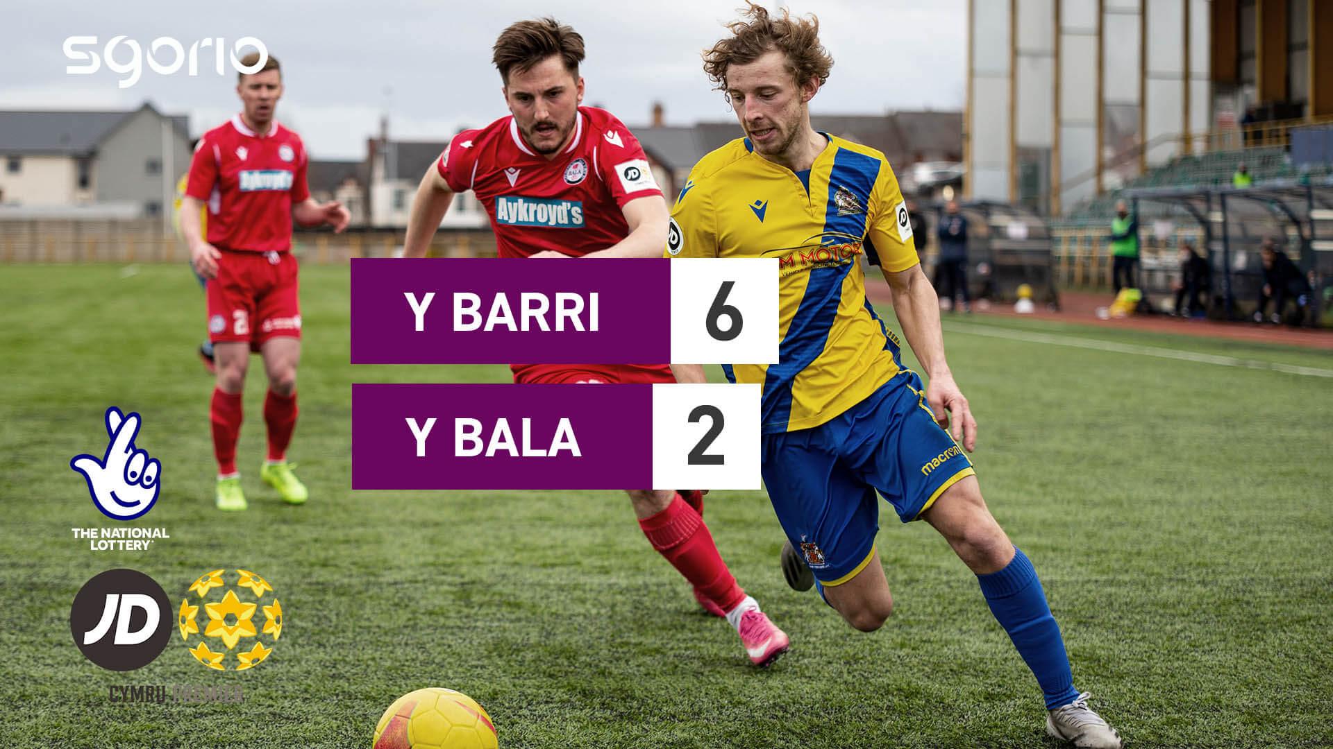 Y Barri 6-2 Y Bala