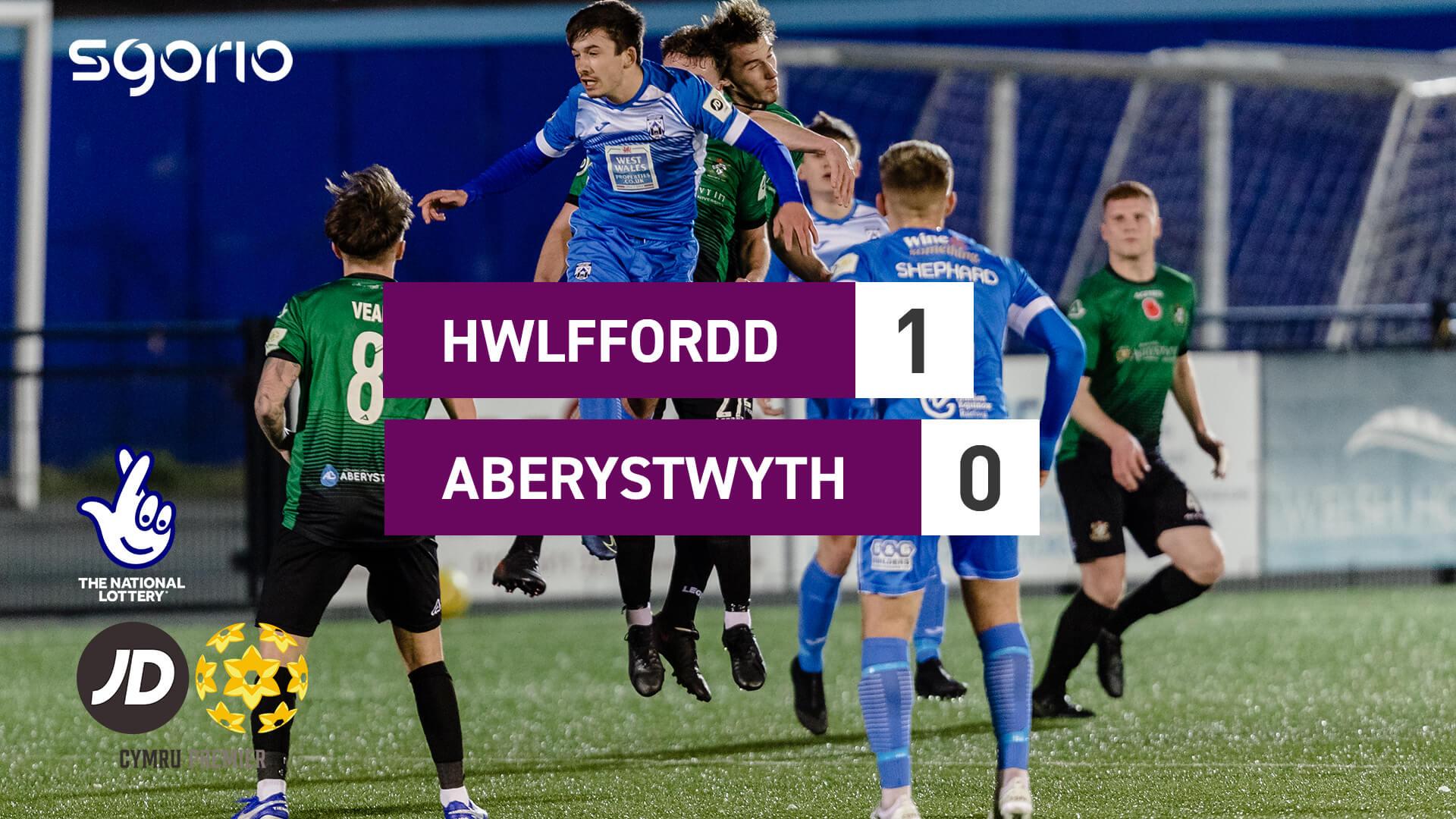 Hwlffordd 1-0 Aberystwyth