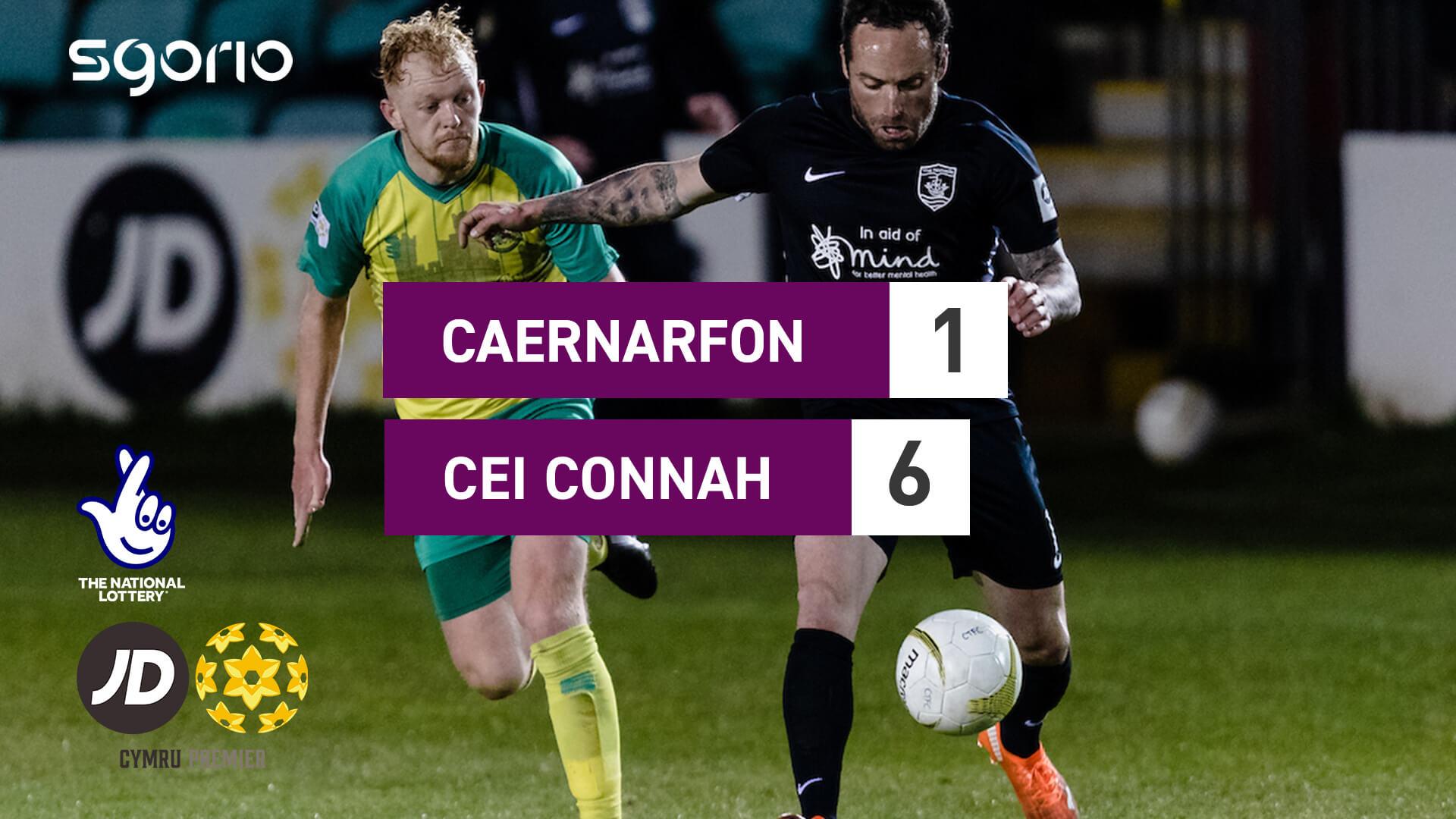 Caernarfon 1-6 Cei Connah