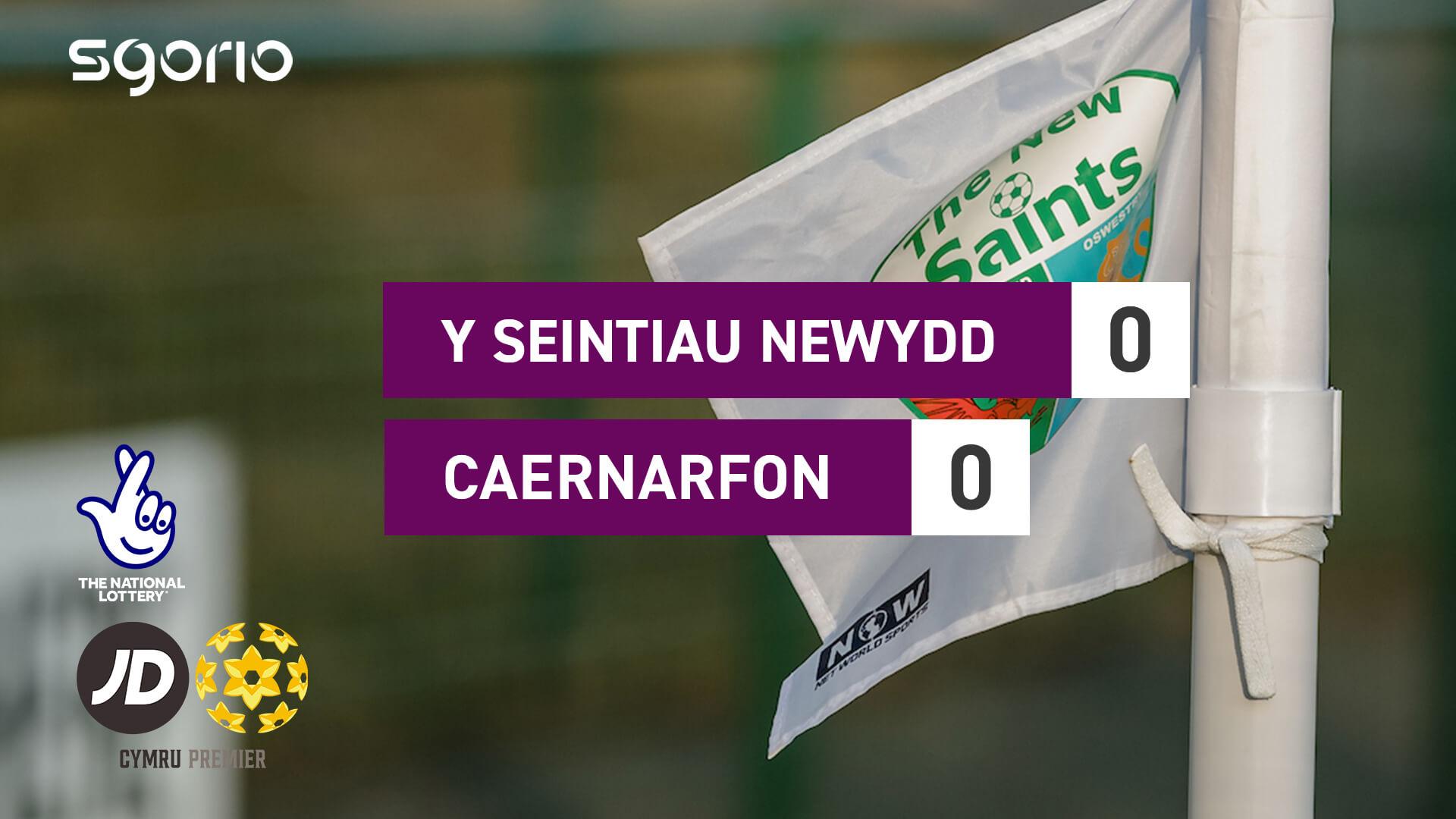 Y Seintiau Newydd 0-0 Caernarfon