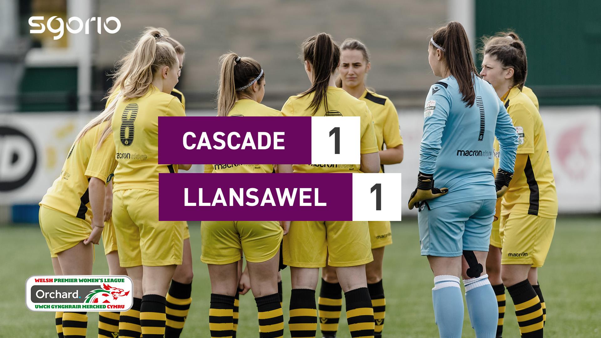 Cascade 1-1 Llansawel