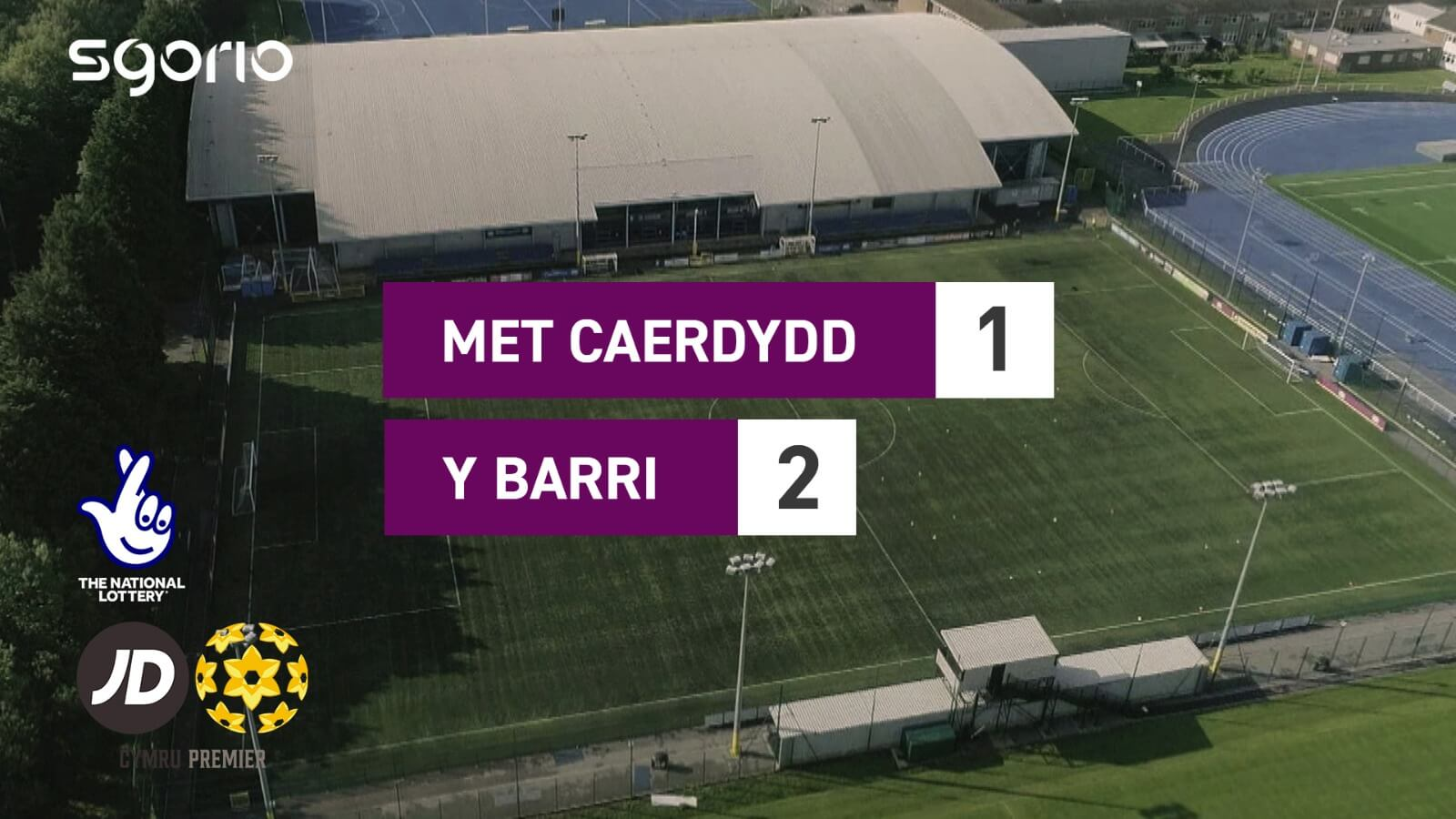 Cardiff Met University 1-2 Barry Town United
