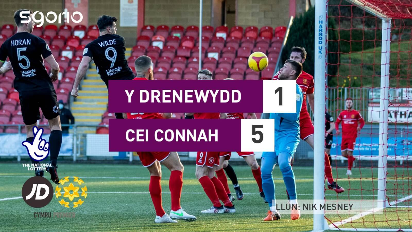 Newtown 1-5 Connah's Quay Nomads