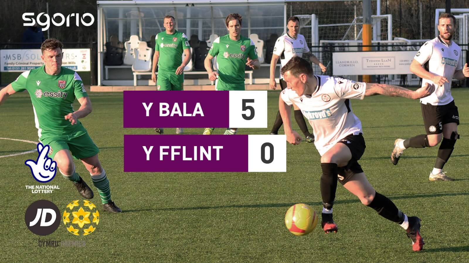 Y Bala 5-0 Y Fflint