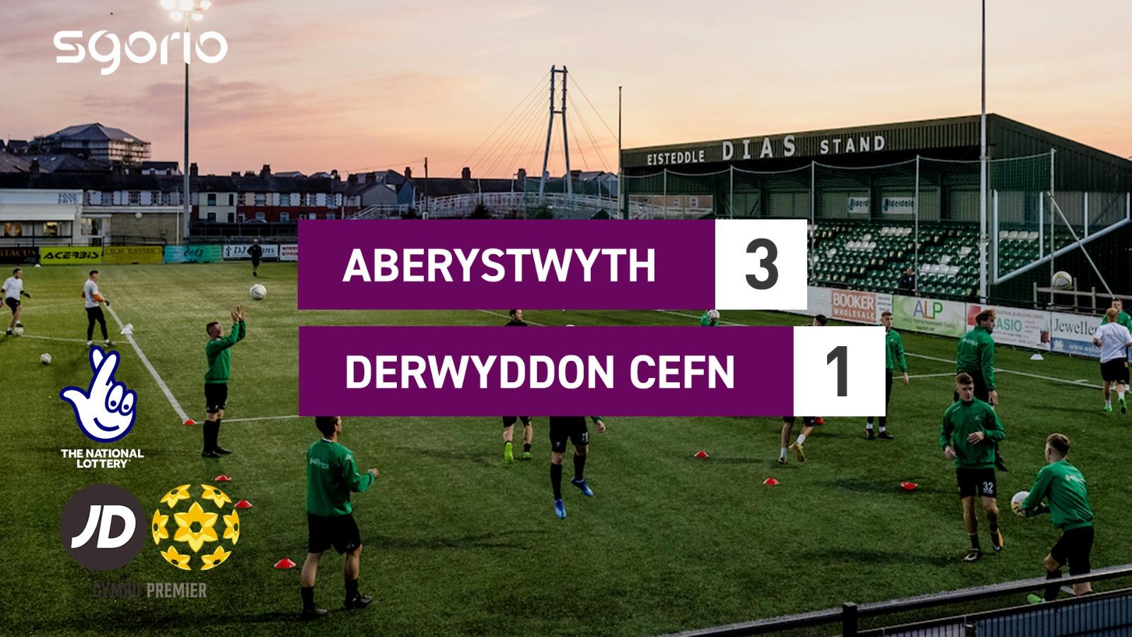Aberystwyth 3-1 Derwyddon Cefn