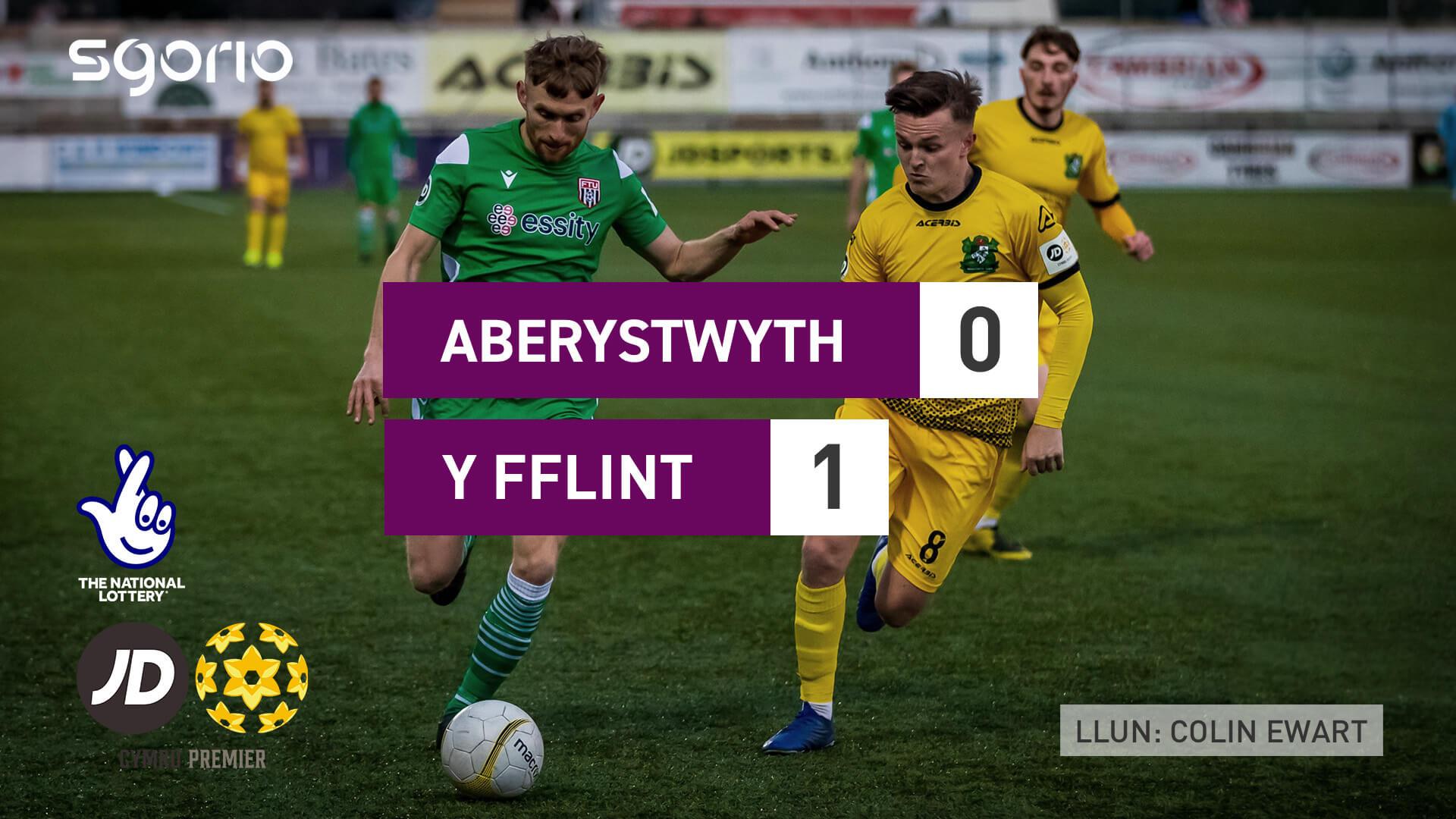 Aberystwyth 0-1 Y Fflint