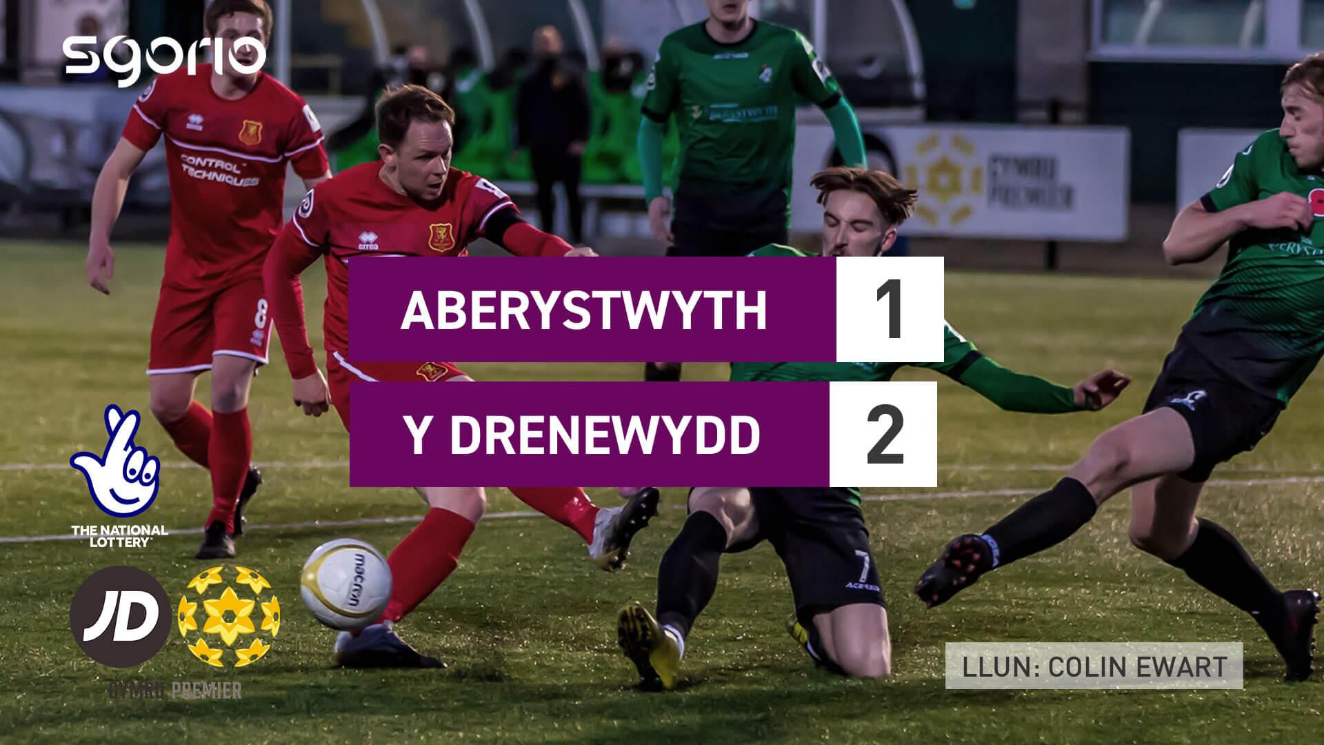Aberystwyth 1-2 Y Drenewydd