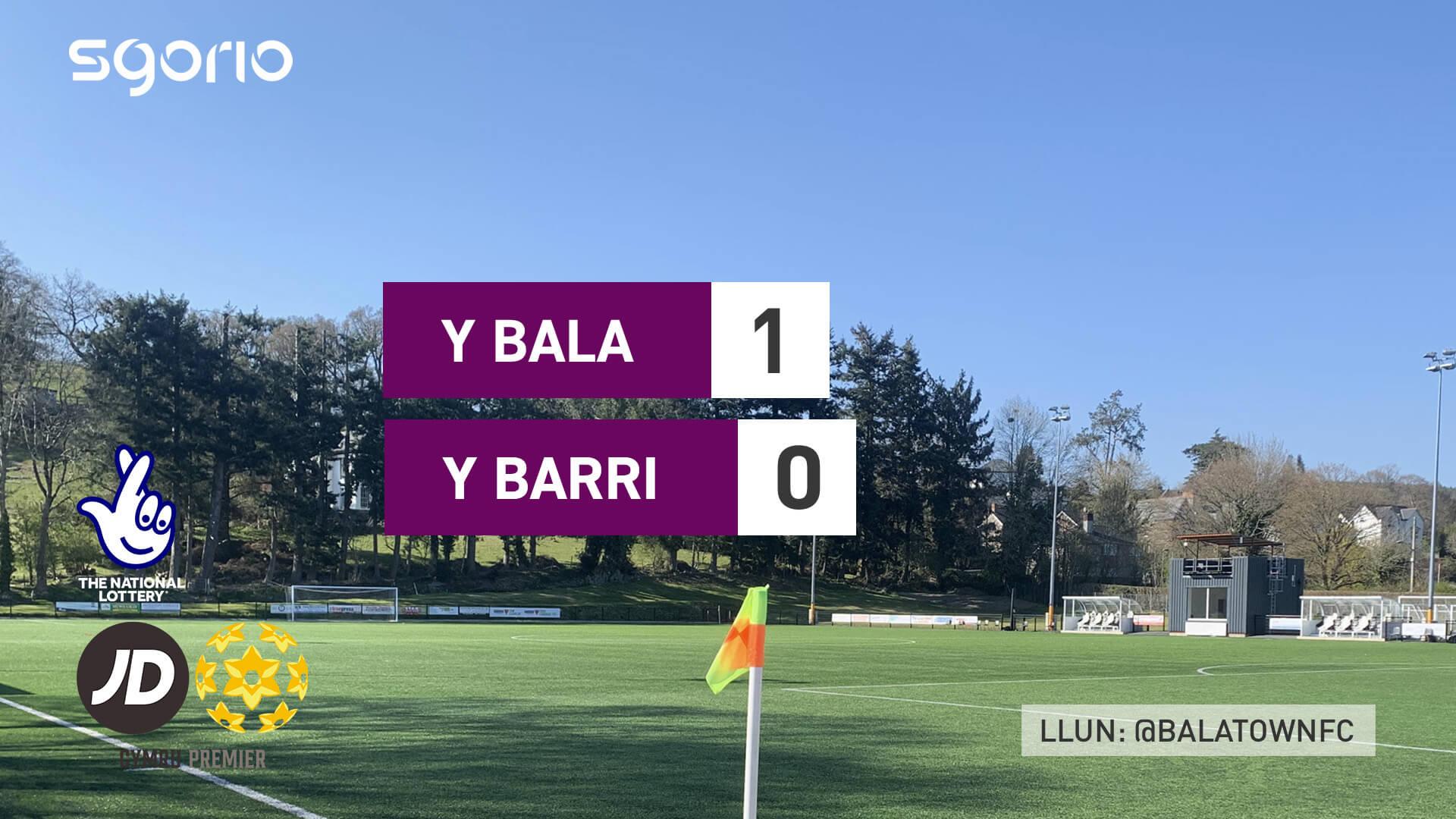 Y Bala 1-0 Y Barri